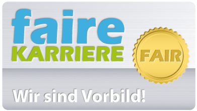HomeBase GmbH hat auf Faire-Karriere das FAIR-Siegel erhalten