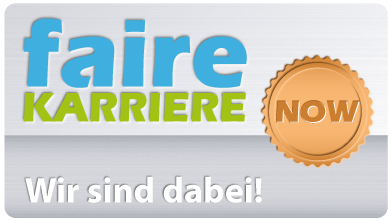 DREEBIT GmbH hat auf Faire-Karriere das NOW-Siegel erhalten